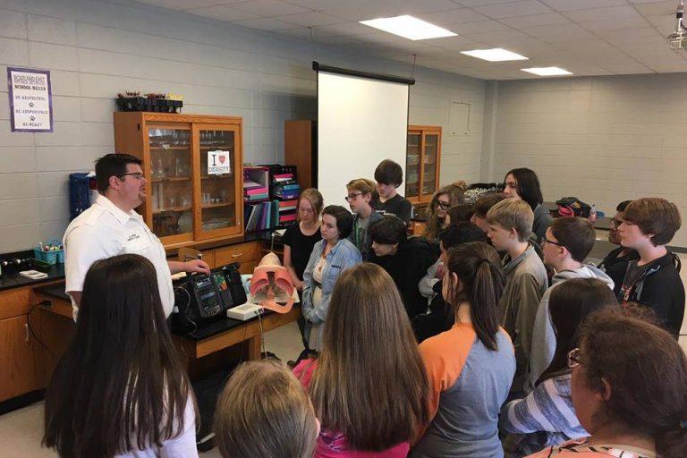 SCEMS Visits Portland East Middle School